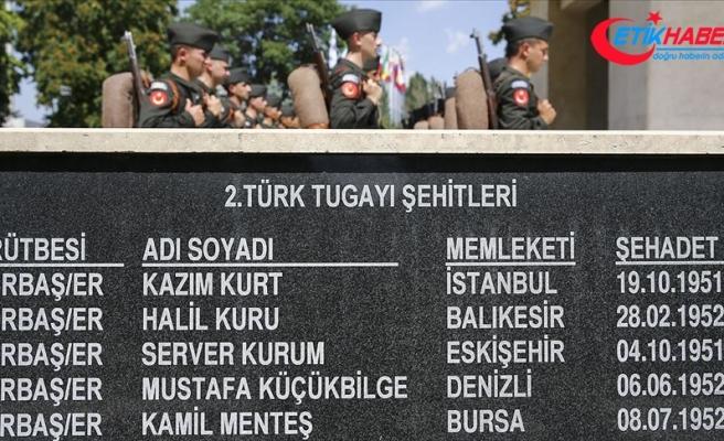 Kore'de Savaşan Türkler Anıtı'nda anma töreni düzenlendi