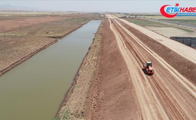 Mardin Ovası Fırat'ın suyuyla buluşacak