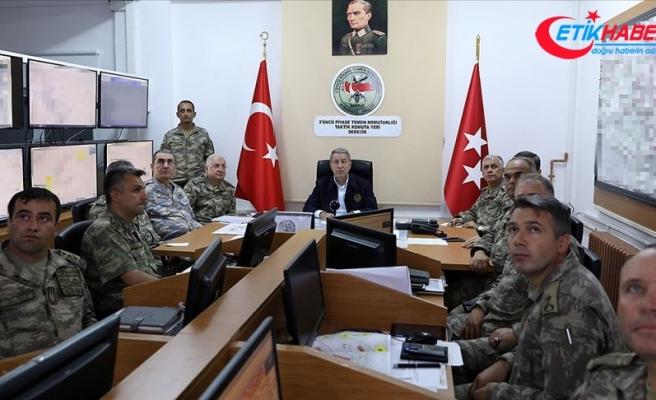 Milli Savunma Bakanı Akar: 27 Mayıs'tan bu yana 64 terörist etkisiz hale getirildi