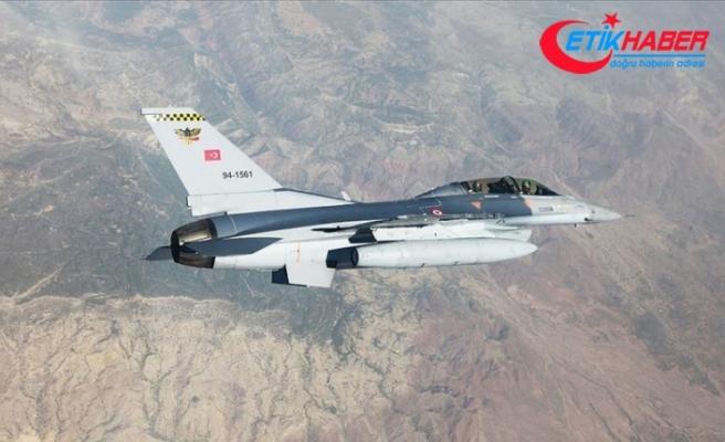 Pençe Harekatı'nda PKK'ya ait mevziler vuruldu