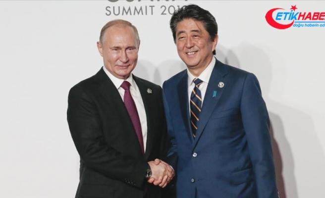 """Rusya ile Japonya """"barış anlaşması"""" konusunda diyaloğa devam edecek"""