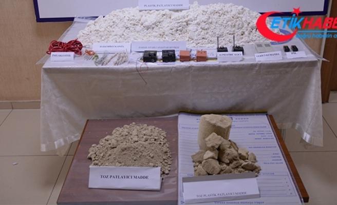 Şanlıurfa'da 44 kilo patlayıcı ve çok sayıda mühimmat ele geçirildi