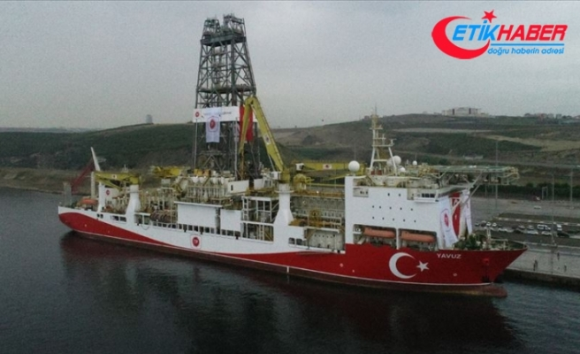 Sondaj gemisi Yavuz, Akdeniz'e uğurlandı