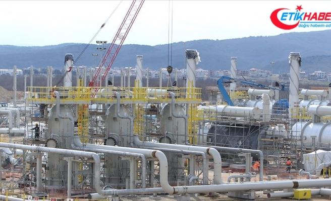 TürkAkım alım terminalinin yüzde 80'i tamamlandı