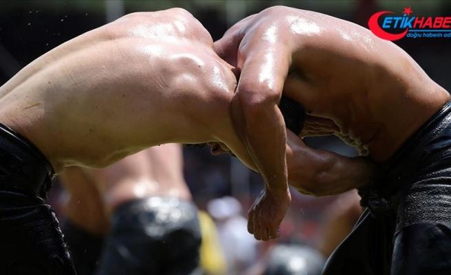 658. Tarihi Kırkpınar Yağlı Güreşleri'nde 2. Tur güreşleri tamamlandı