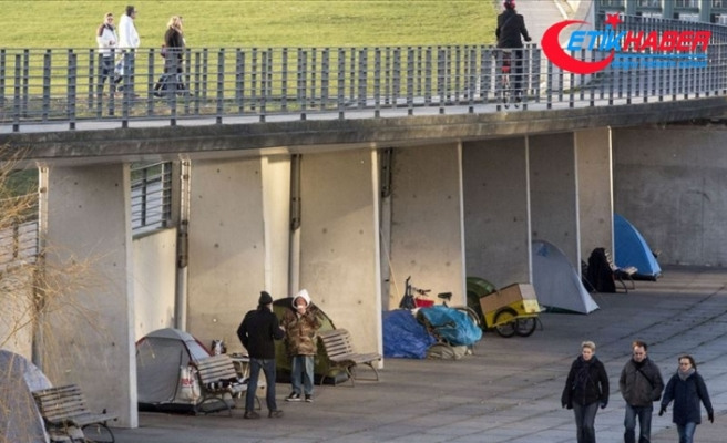 Almanya'da evsizlerin sayısı 650 bin oldu