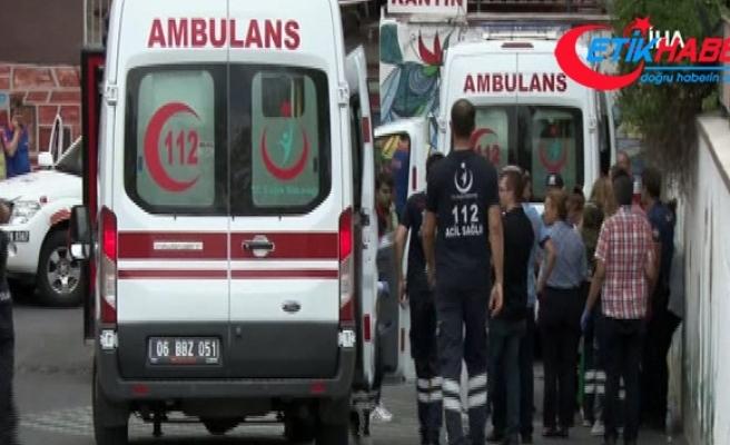 Ankara'da bir hastanede kimyasal madde paniği!