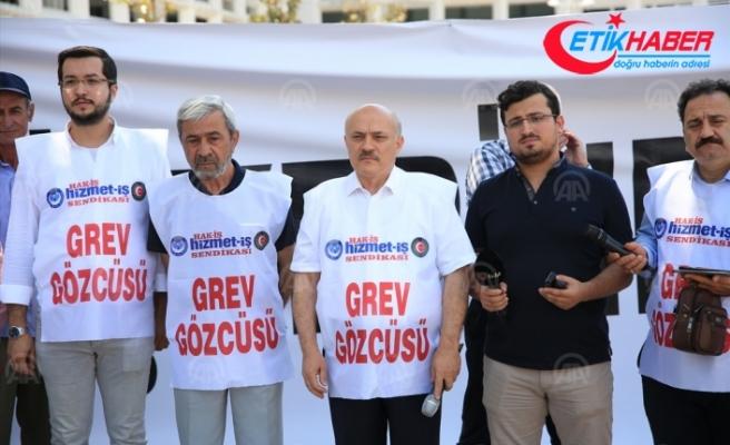 Antalya Büyükşehir Belediyesinde grev kararı