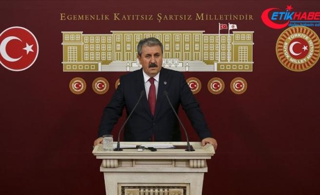 BBP Genel Başkanı Destici: Eski sisteme geri dönmemiz mümkün değil