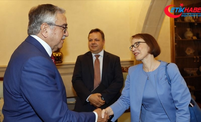 Cumhurbaşkanı Akıncı ABD Büyükelçisi Garber'i kabul etti