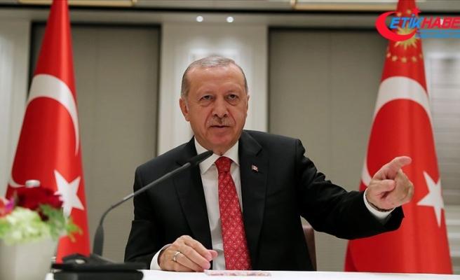 Cumhurbaşkanı Erdoğan genel yayın yönetmenleriyle bir araya geldi
