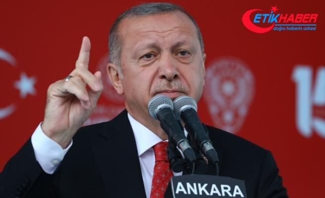 Cumhurbaşkanı Erdoğan: Hep birlikte 'tek millet, tek bayrak, tek vatan, tek devlet' diyerek geleceğe yürüyeceğiz