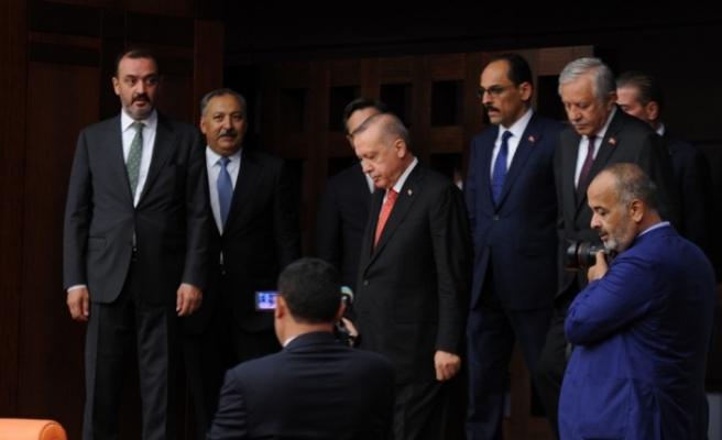 Cumhurbaşkanı Erdoğan, TBMM'de 15 Temmuz Özel Oturumuna katıldı