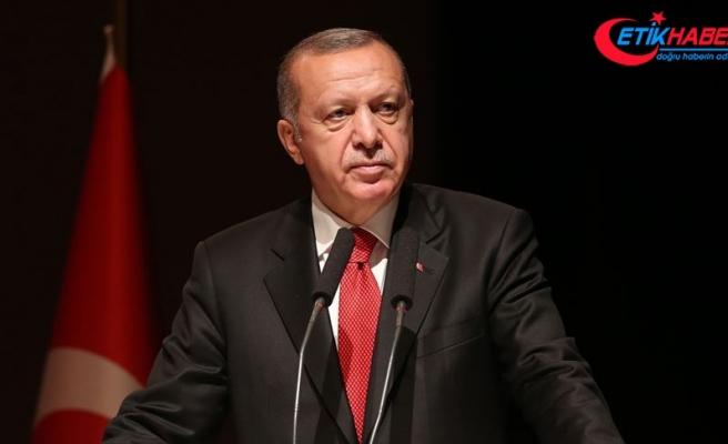 Erdoğan: Fırat Kalkanı ve Zeytin Dalı ile başlayan süreç farklı bir aşamaya geçecek