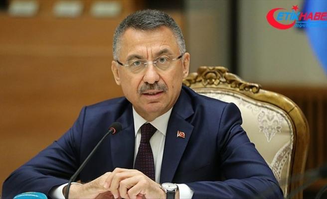 Cumhurbaşkanı Yardımcısı Oktay: Türkiye'yi yok saymaya kalkışanlar emellerine ulaşamayacak