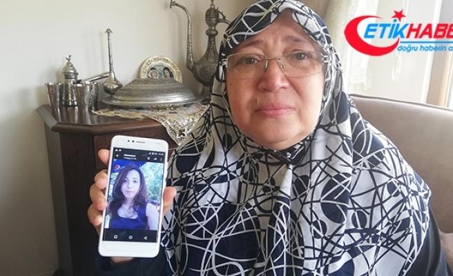 Damadı tarafından kızı öldürülen anneden adalet çağrısı