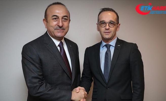 Dışişleri Bakanı Çavuşoğlu Alman mevkidaşı Maas ile görüştü