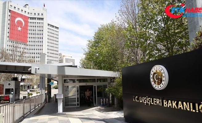 Dışişleri Bakanlığı: Türkiye Kıbrıs Türk halkının haklarını savunmaya devam edecektir