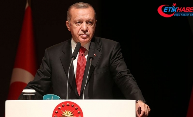 """Cumhurbaşkanı Erdoğan'dan """"Lozan Barış Antlaşması"""" mesajı"""