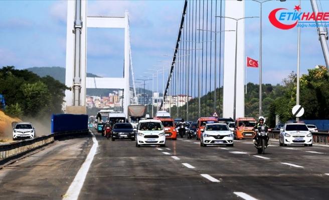 Fatih Sultan Mehmet Köprüsü trafiğe açıldı