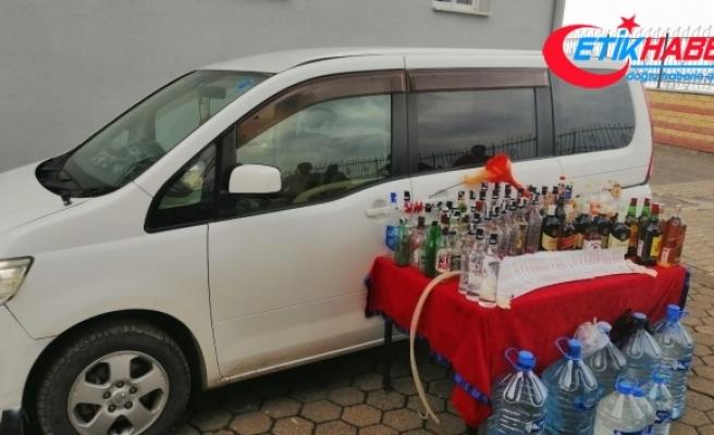 Fatsa'da kaçak içki üretimine baskın: 2 yabancıya gözaltı