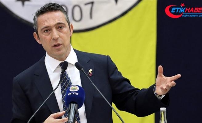 Fenerbahçe Kulübü Başkanı Koç: En faydalı isimler üzerinde görüşmelerimiz devam ediyor