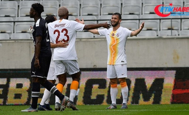 Galatasaray hazırlık maçında Bordeaux'yu 3 golle geçti