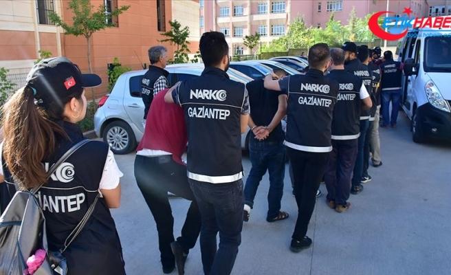 Gaziantep merkezli suç örgütü operasyonunda 40 tutuklama