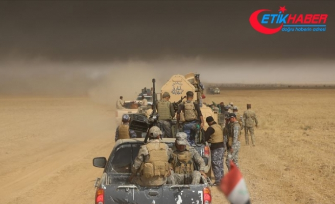 Irak'ta Haşdi Şabi kampına İHA saldırısı