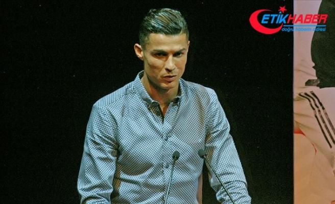 İspanya'dan Cristiano Ronaldo'ya 'efsane' ödülü