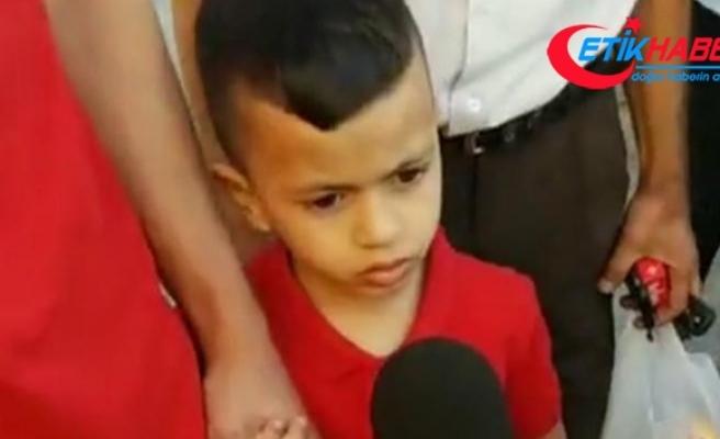 İsrail ordusu 4 yaşındaki Filistinli çocuğu sorguya çağırdı