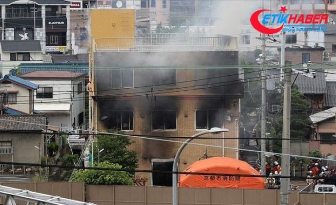 Japonya'da animasyon stüdyosunda yangın: 23 ölü