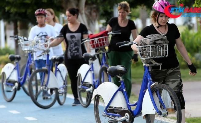 Kadınların gönüllü bisiklet eğitmeni oldular