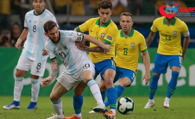 Kupa Amerika'da ilk finalist Brezilya