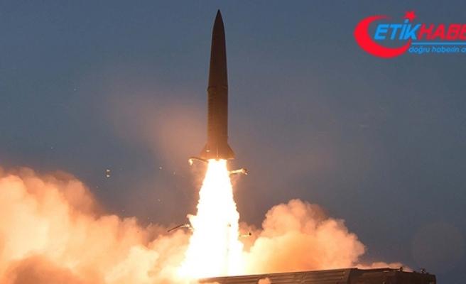 Kuzey Kore'den dün fırlattığı füzeye ilişkin açıklama