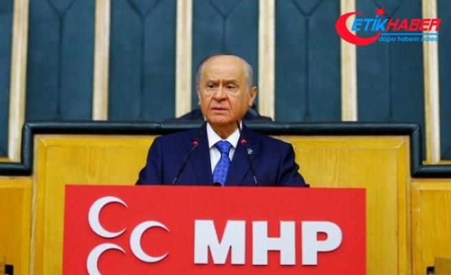 MHP Lideri Bahçeli: Davamız hak davasıdır, hakikat davasıdır, İlay-ı Kelimetullah davasıdır
