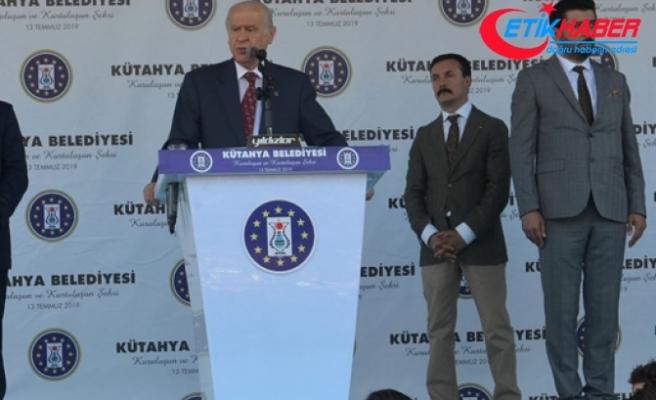 MHP Lideri Bahçeli: S-400'e FETÖ'cü alçaklar, PKK'lı caniler, küresel güçler, CHP, İP, HDP karşıdır