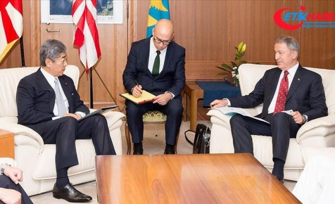 Milli Savunma Bakanı Akar, Japon mevkidaşı ile görüştü