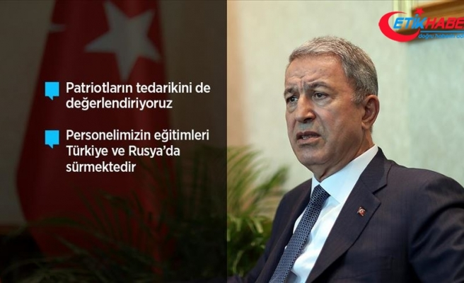 Milli Savunma Bakanı Akar: S-400 teslimat süreci devam edecek