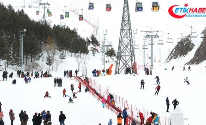 Palandöken '1 milyon turist' hedefiyle sezona hazırlanıyor