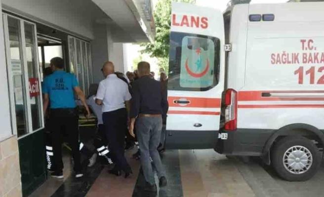 PKK'nın bombası ile yaralanan çocuk Elazığ'a getirildi
