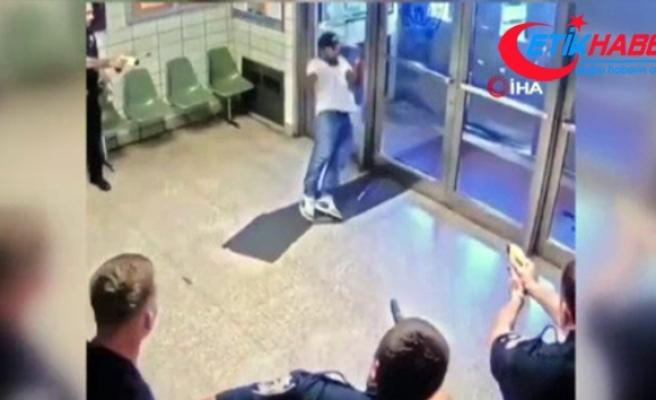 Polis merkezine girip vurulmayı istedi