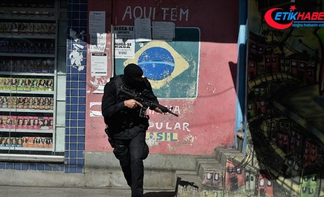 Rio de Janeiro'daki polis operasyonlarıyla her 5 saatte bir kişi ölüyor