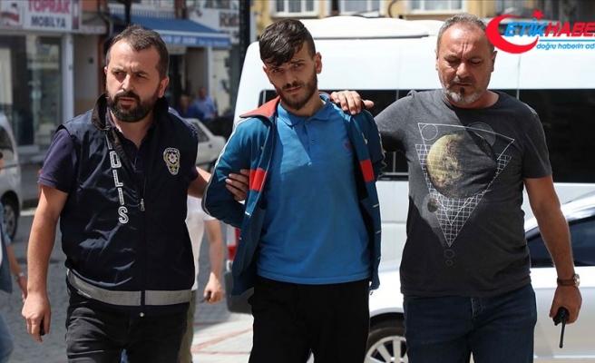 Rize'de genç kızı darbeden kişi tutuklandı