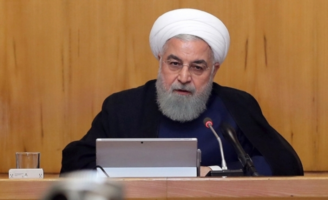 """Ruhani: """"Zenginleştirilmiş uranyum seviyesini yüzde 3,67'ye çıkaracağız"""""""