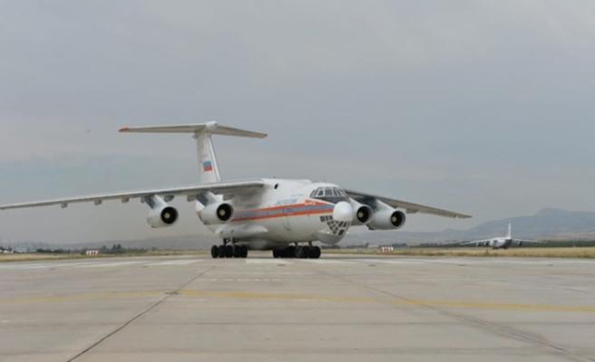 S-400 teslimatında 9. uçak Ankara'ya indi