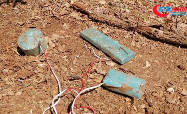 Siirt'te teröristlerin tuzakladığı 3 el yapımı patlayıcı bulundu