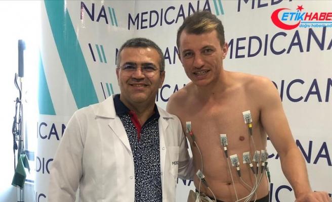Sivasspor'da Ziya Erdal sağlık kontrolünden geçirildi