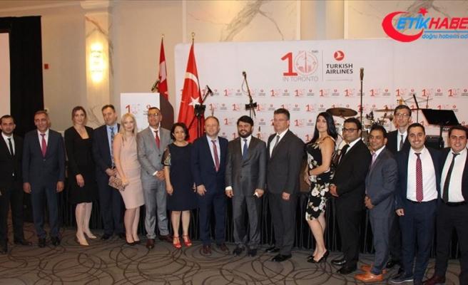THY Toronto'ya uçuşlarının 10. yılını kutladı