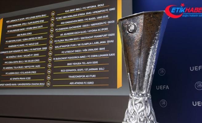 UEFA Avrupa Ligi'nde rakipler belli oldu